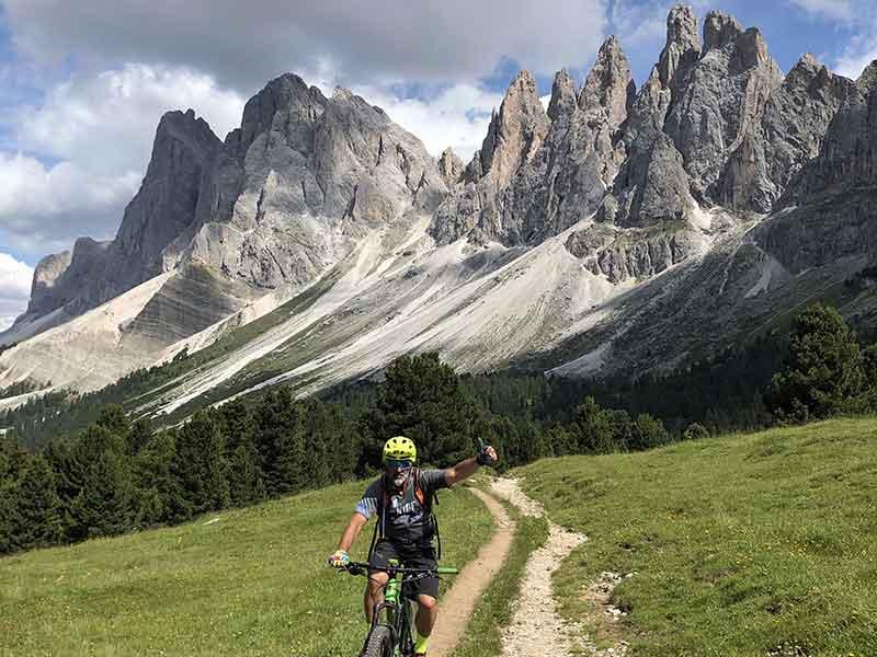 MTB Alpenüberquerung Dolomiten vom Zillertal zum Gardasee