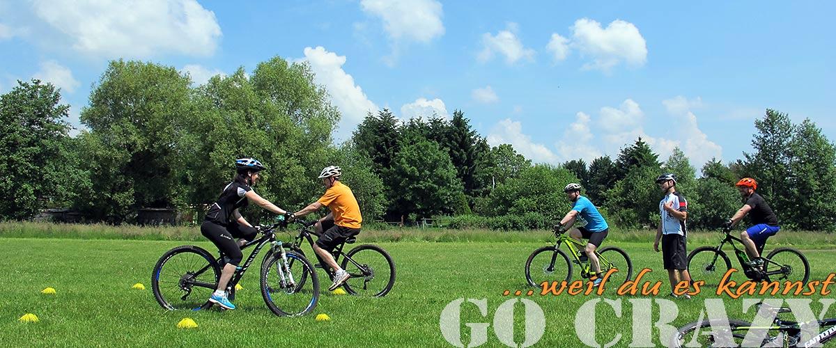 Mountainbike und e-Bike Fahrtechnik Seminar