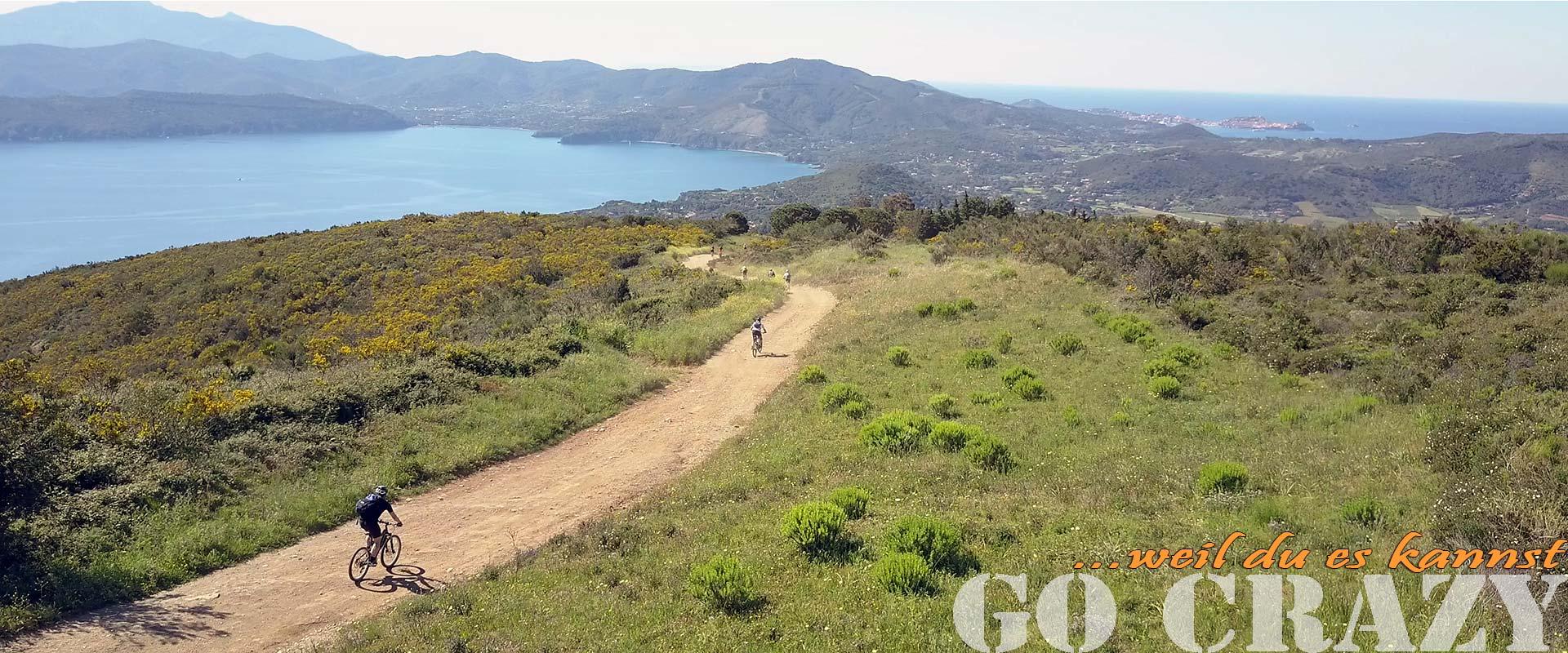 Ab in den Süden - Mediterrane Mountainbikereisen - Biken & Beachen